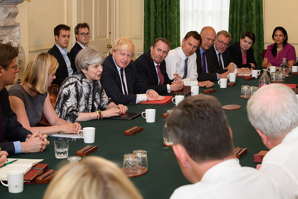 Cabinet Member「Theresa May's reshuffled Cabinet Meets For The First Time」:写真・画像(8)[壁紙.com]