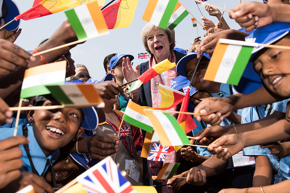 Economy「Theresa May Takes A British Trade Delegation To India - Day 2」:写真・画像(11)[壁紙.com]