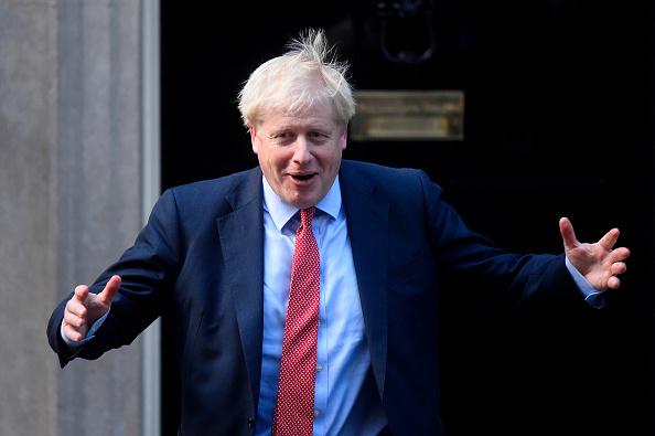 Boris Johnson「PM Johnson Receives President Of The European Parliament David Sassoli To Downing Street」:写真・画像(18)[壁紙.com]