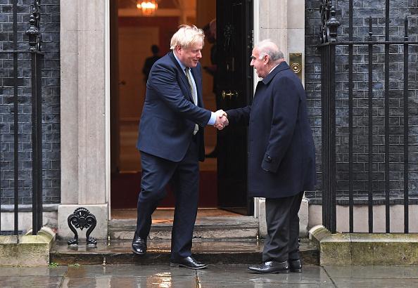 Greeting「Boris Johnson Welcomes The President Of Malta」:写真・画像(19)[壁紙.com]