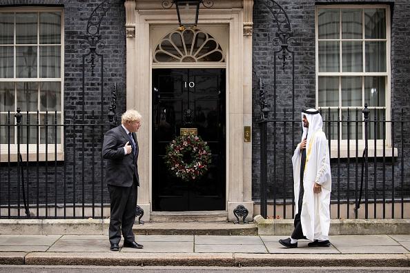 Prime Minister of the United Kingdom「British PM Greets Sheikh Mohammed bin Zayed Al-Nahyan On Downing Street」:写真・画像(16)[壁紙.com]