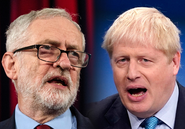 Jeremy Corbyn「Jeremy Corbyn, Labour Leader and Boris Johnson, Prime Minister and Conservative Leader」:写真・画像(3)[壁紙.com]