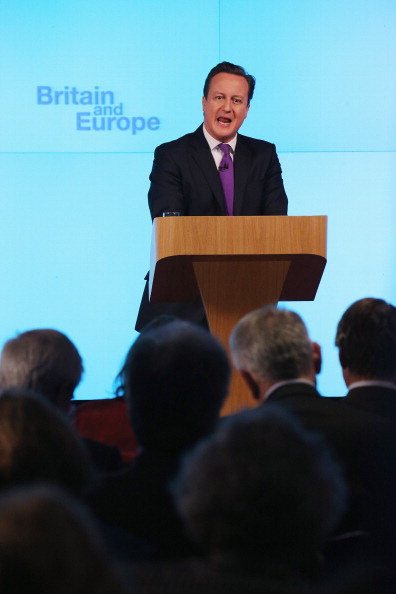 Anticipation「British Prime Minister David Cameron Makes Speech On The UK's Position In Europe」:写真・画像(15)[壁紙.com]