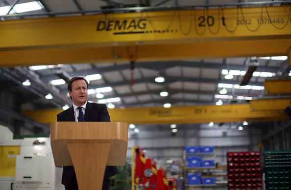 Christopher Furlong「Prime Minister David Cameron Makes A Speech On The UK Economy In Yorkshire」:写真・画像(12)[壁紙.com]