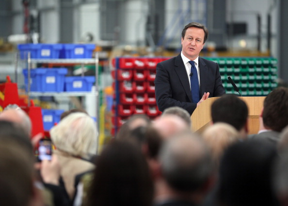 Christopher Furlong「Prime Minister David Cameron Makes A Speech On The UK Economy In Yorkshire」:写真・画像(11)[壁紙.com]