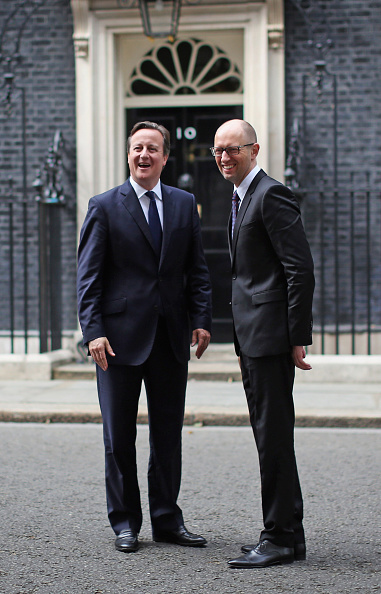 Dan Kitwood「British Prime Minister David Cameron Welcomes Ukrainian Prime Minister Arseniy Yatseniuk To London」:写真・画像(5)[壁紙.com]