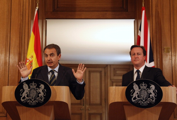 Dan Kitwood「David Cameron Holds A Press Conference With The Spanish Prime Minister At Downing Street」:写真・画像(14)[壁紙.com]