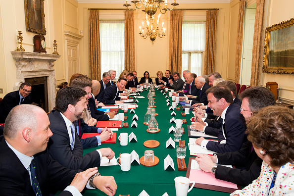 New「First Conservative Cabinet Meeting Of The New Government」:写真・画像(1)[壁紙.com]