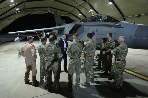 Republic Of Cyprus「Prime Minister David Cameron Visits RAF Base In Cyprus」:写真・画像(3)[壁紙.com]