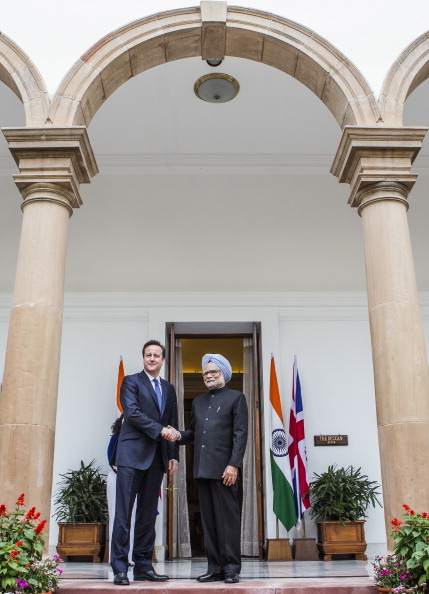Delhi「Prime Minister David Cameron Official Visit To India」:写真・画像(17)[壁紙.com]