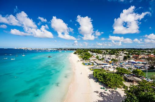 Barbados「Caribbean, Antilles, Lesser Antilles, Barbados, Beach near Garrison」:スマホ壁紙(11)