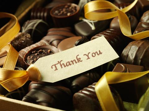 Milk Chocolate「Thank You Label and Chocolates」:スマホ壁紙(17)