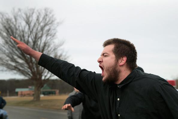 偏見「Activists Protest Alt Right Leader Richard Spencer's MSU Appearance」:写真・画像(9)[壁紙.com]