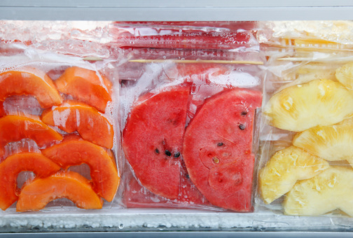 メロン「3 prepared and packaged fruits」:スマホ壁紙(2)
