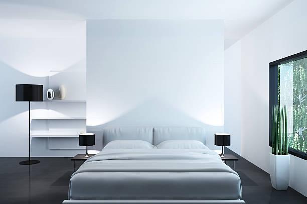 White Luxury Bedroom:スマホ壁紙(壁紙.com)