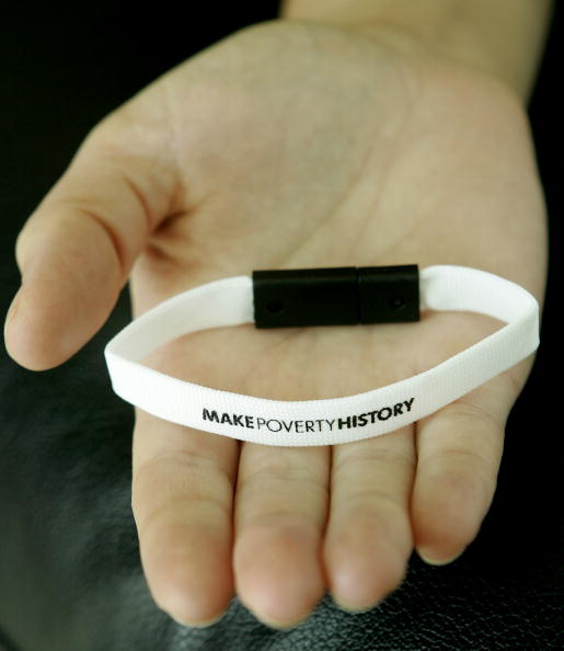 Oxfam「Make Poverty History - Wristband」:写真・画像(19)[壁紙.com]
