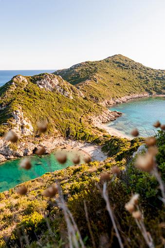 Corfu「Greece, Corfu, Cape Arilla near Afionas」:スマホ壁紙(11)