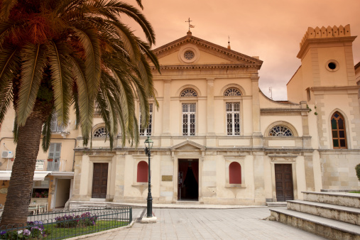 Corfu「Greece, Corfu, Corfu Town, St. Jacobs Cathedral」:スマホ壁紙(2)