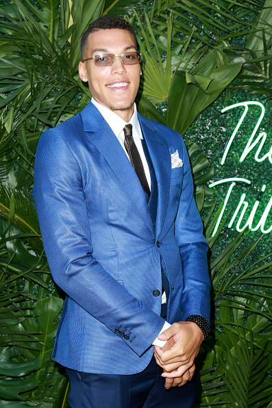 Basketball player Aaron Gordon「The Players' Tribune Hosts Players' Night Out 2017」:写真・画像(5)[壁紙.com]