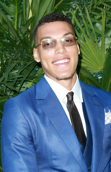 Basketball player Aaron Gordon「The Players' Tribune Hosts Players' Night Out 2017」:写真・画像(4)[壁紙.com]