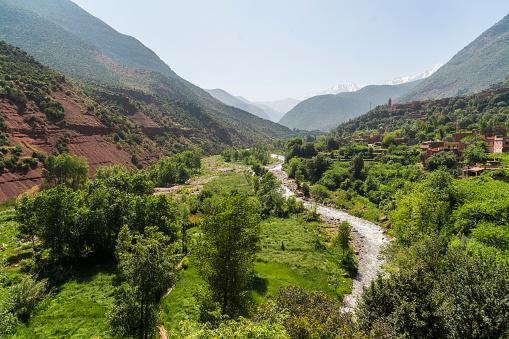 Atlas Mountains「Morocco, Atlas mountains, Ourika Valley」:スマホ壁紙(7)