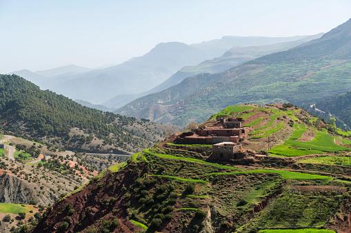 Atlas Mountains「Morocco, Atlas mountains in Ourika Valley」:スマホ壁紙(11)