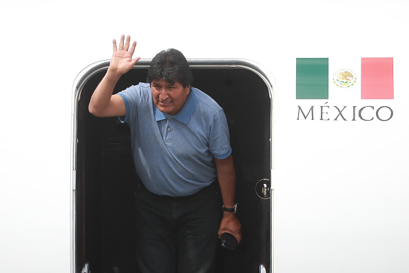 Arrival「Former Bolivian President Evo Morales Accepts Political Asylum And Arrives In Mexico」:写真・画像(7)[壁紙.com]