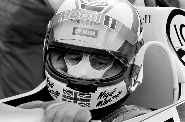 Sports Track「Formula One Grand Prix Driver Nigel Mansell」:写真・画像(17)[壁紙.com]