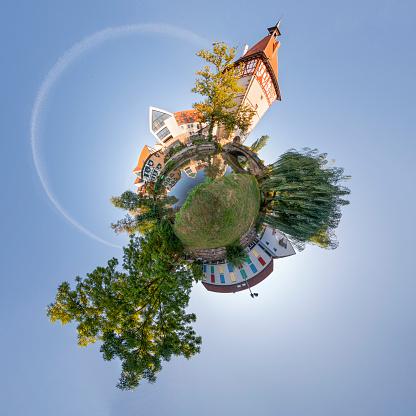 Town Square「Germany, Waiblingen, montage」:スマホ壁紙(13)