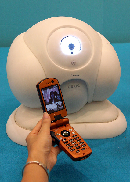 Wireless Technology「House-Sitter Robot Roborior Is On Display At A Tokyo Department Store」:写真・画像(19)[壁紙.com]