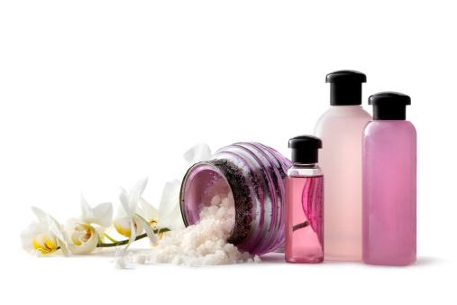 Health Spa「Wellness: Pink Spa Theme with Bath Salt and Orchid」:スマホ壁紙(19)