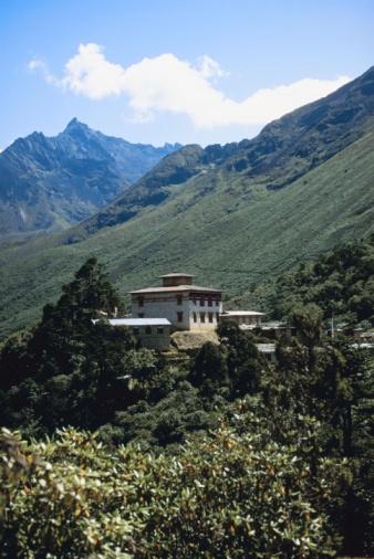 Khumbu「Mountainside temple, Nepal」:スマホ壁紙(0)
