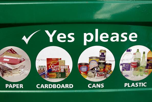 Recycling Bin「Recycling bin, UK」:写真・画像(1)[壁紙.com]