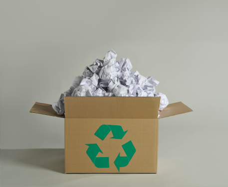 Recycling「Recycling box and wastepaper」:スマホ壁紙(14)