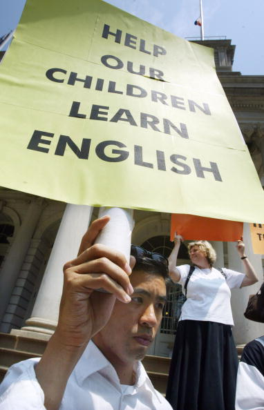 Blank「Immigration And Education Groups Protest English Regent's Exam」:写真・画像(3)[壁紙.com]