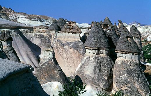 Pinnacle - Rock Formation「Pinnacles in Cappadocia」:スマホ壁紙(11)