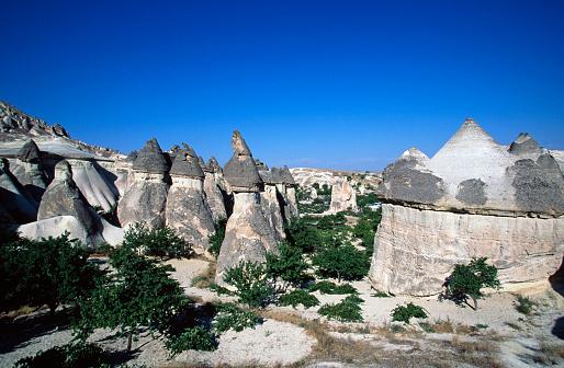 Pinnacle - Rock Formation「Pinnacles in Cappadocia」:スマホ壁紙(13)