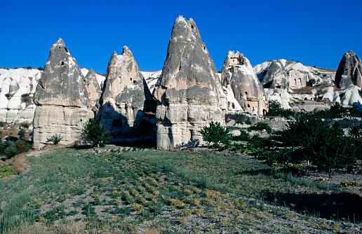 Pinnacle - Rock Formation「Pinnacles in Cappadocia」:スマホ壁紙(10)