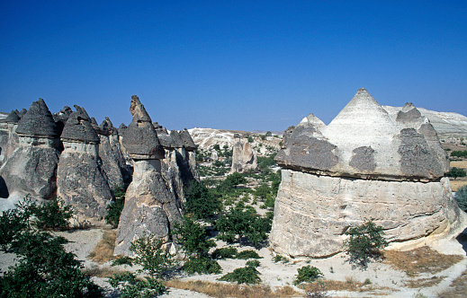 Pinnacle - Rock Formation「Pinnacles in Cappadocia」:スマホ壁紙(2)