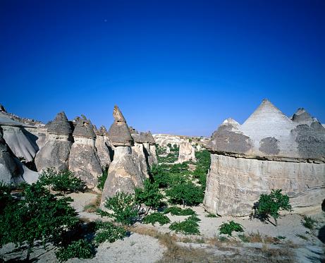 Pinnacle - Rock Formation「Pinnacles in Cappadocia」:スマホ壁紙(12)