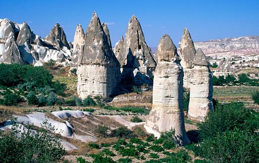 Pinnacle - Rock Formation「Pinnacles in Cappadocia」:スマホ壁紙(14)