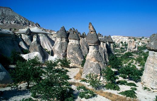 Pinnacle - Rock Formation「Pinnacles in Cappadocia」:スマホ壁紙(17)