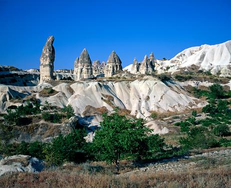 Pinnacle - Rock Formation「Pinnacles in Cappadocia」:スマホ壁紙(6)
