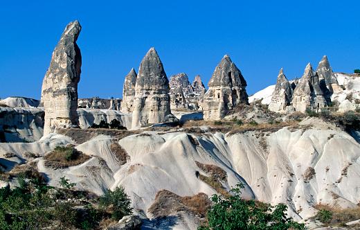 Pinnacle - Rock Formation「Pinnacles in Cappadocia」:スマホ壁紙(16)