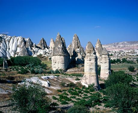 Pinnacle - Rock Formation「Pinnacles in Cappadocia」:スマホ壁紙(5)
