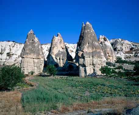 Pinnacle - Rock Formation「Pinnacles in Cappadocia」:スマホ壁紙(8)
