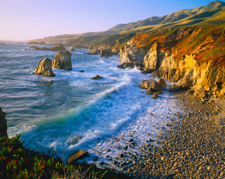 Big Sur「Getting Refreshed at the Big Sur Coast Of California (P)」:スマホ壁紙(6)
