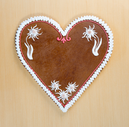 Souvenir「Copy space Gingerbread Cookie Heart, Oktoberfest (XXXL)」:スマホ壁紙(17)