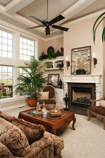 Feng Shui「Living room in residential home.」:スマホ壁紙(9)