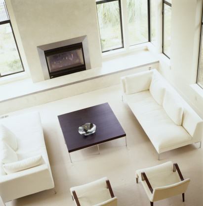 Sofa「Living room, elevated view」:スマホ壁紙(6)